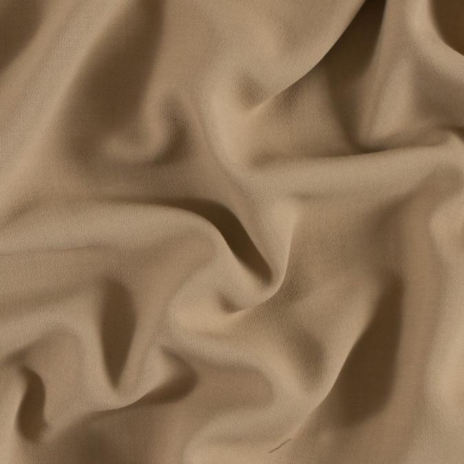 italian beige wool double face crepe fw11310 11