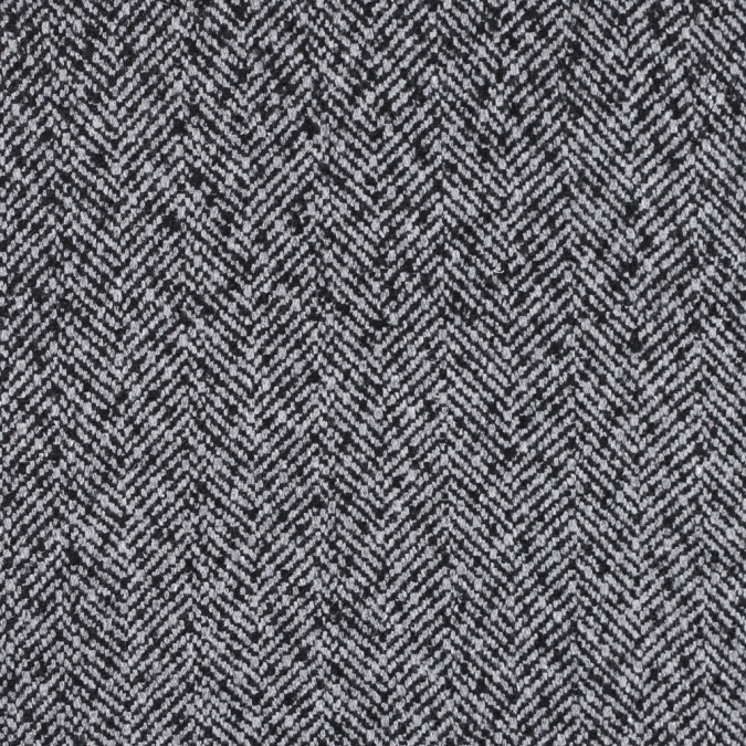 italian black and gray herringbone wool blend 313030 11