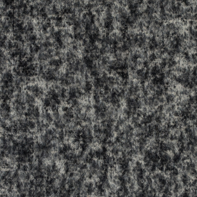 italian black and turtledove brushed wool boucle 315587 11