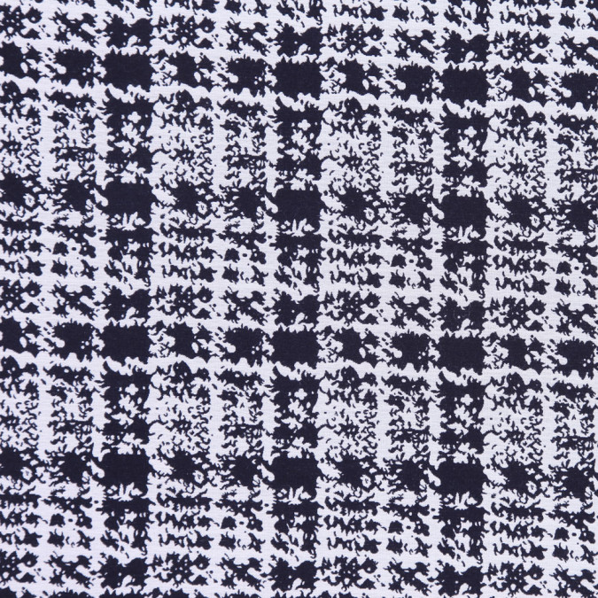 italian black and white plaid cotton brocade fc19509 11