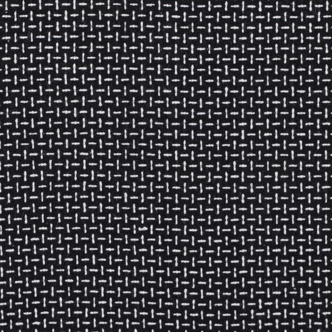 italian black and white woven wool blend 313043 11