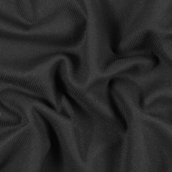 italian black blended wool twill 313243 11
