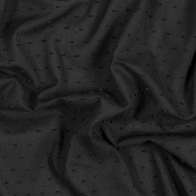 italian black cotton swiss dot 316338 11