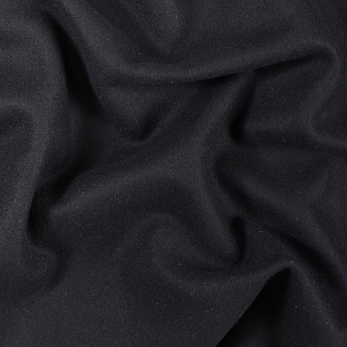 italian black felted wool coating 313047 11