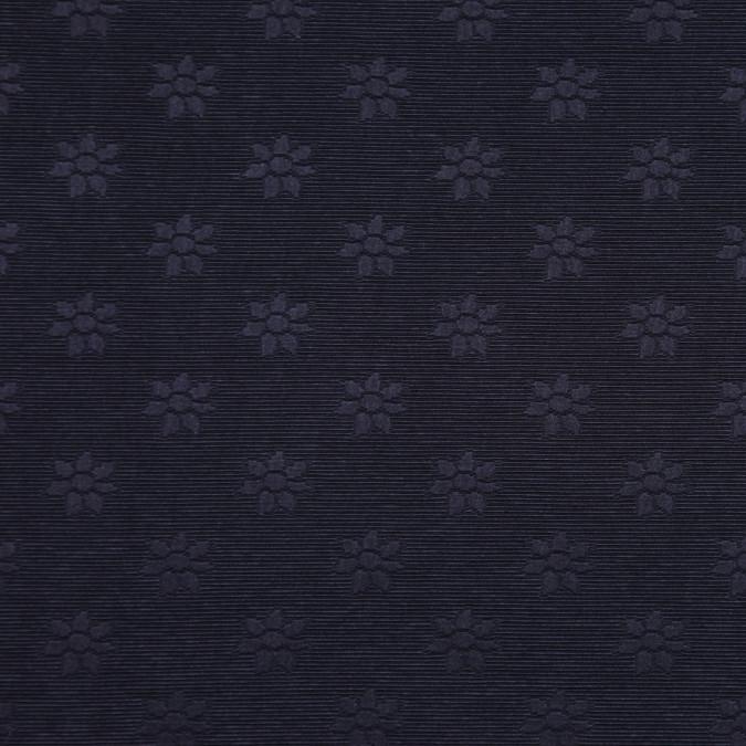 italian black floral poly faille fp19507 11