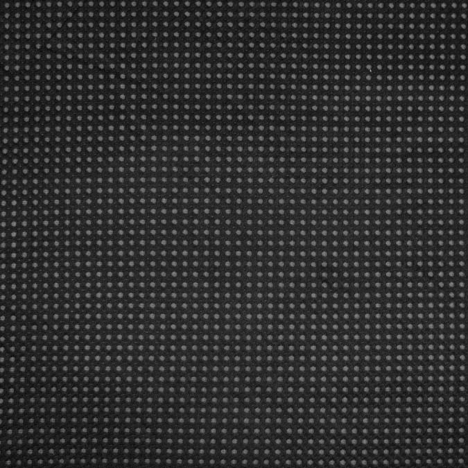 italian black honeycomb mesh jacquard 316350 11