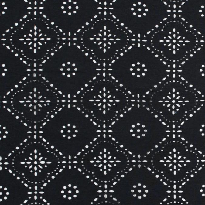 italian black laser cut jersey 312597 11