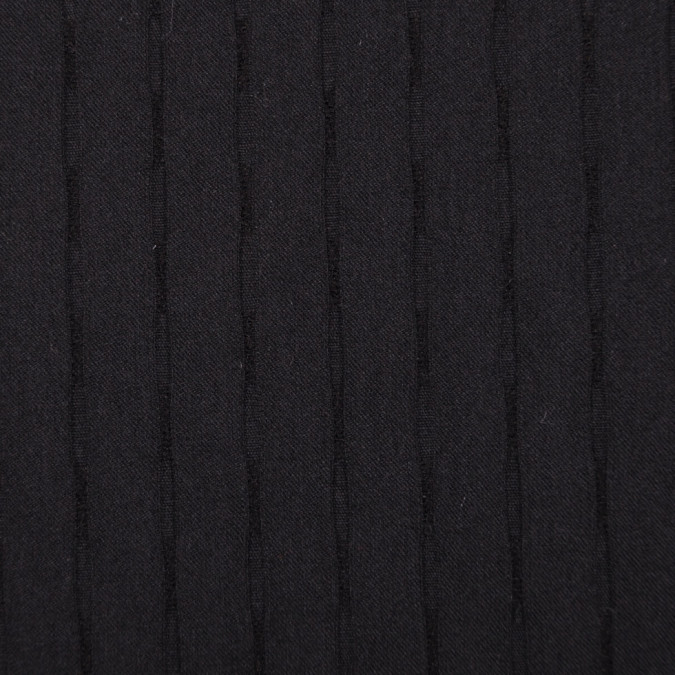 italian black stretch wool rayon suiting fw11151 11