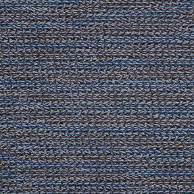 italian blue black white novelty blended woven 310487 11