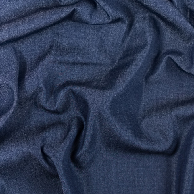 italian blue topweight viscose denim 312060 11
