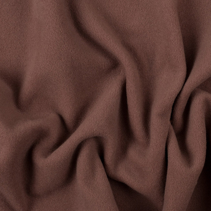 italian brown wool cashmere coating 308240 11