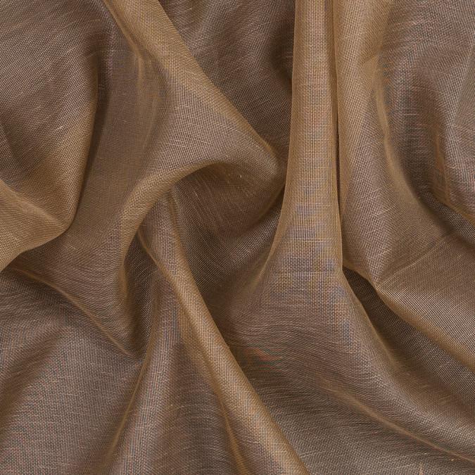 italian camel slubbed silk gazar fs23380 11