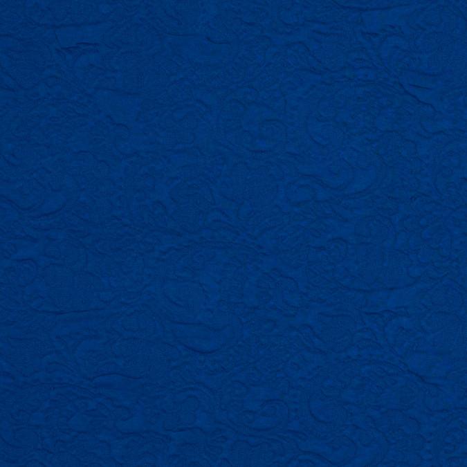 italian cobalt blue paisley knit jaquard 318378 11
