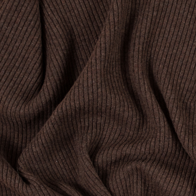 italian coffee brown 2x2 wool rib knit 314979 11