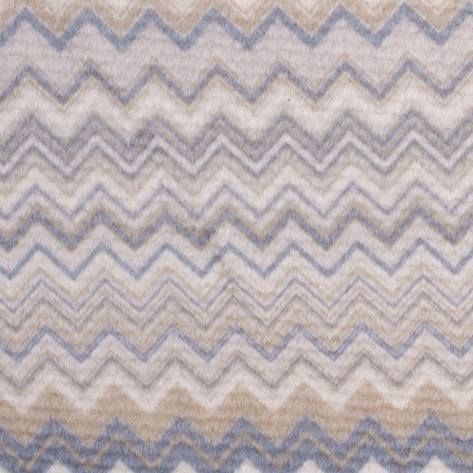 italian cream slate olive zig zag blended wool fleece panel 308524 11