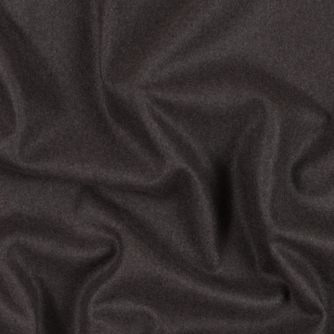 italian dark brown wool and cashmere blended lightweight coating 313228 11