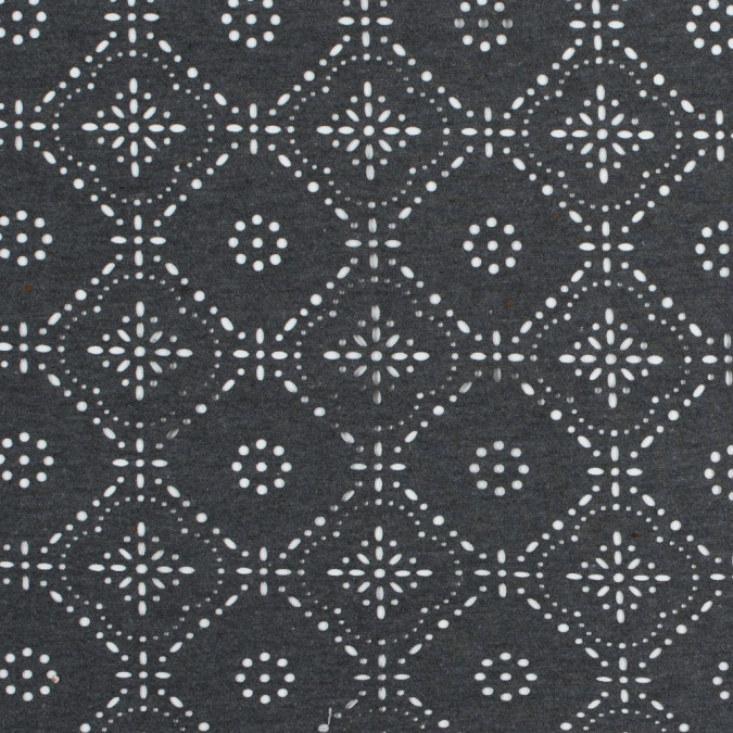 italian dark gray laser cut jersey 312595 11
