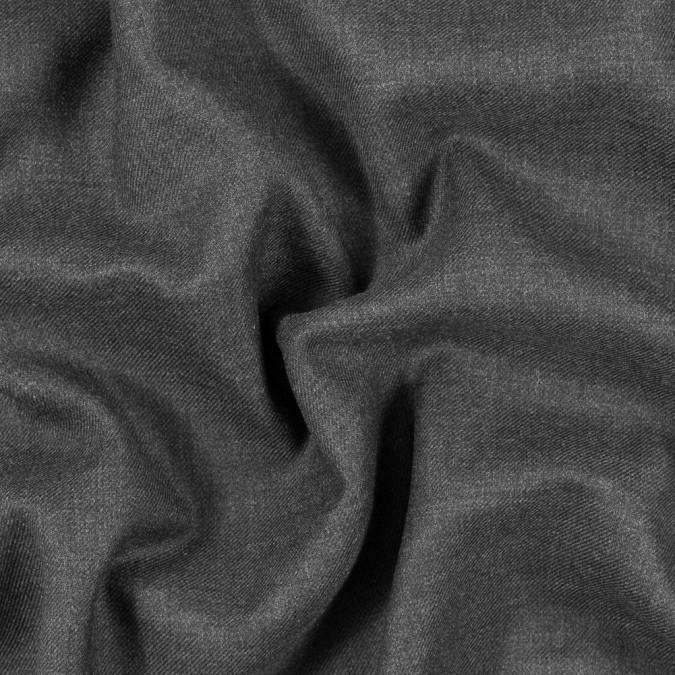 italian dark gray wool twill 313226 11