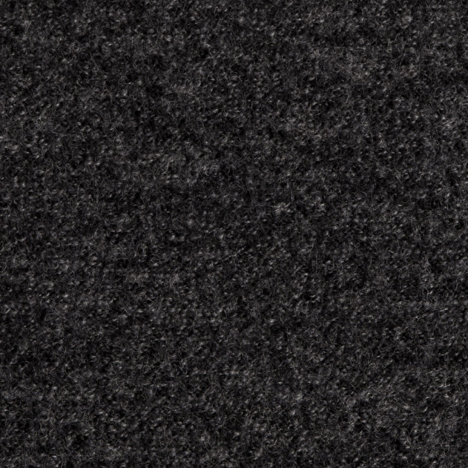 italian dark heather gray wool boucle 309474 11