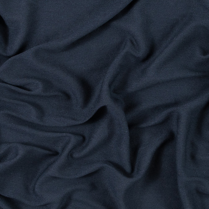 italian dark navy heathered sheer rayon jersey 315649 11