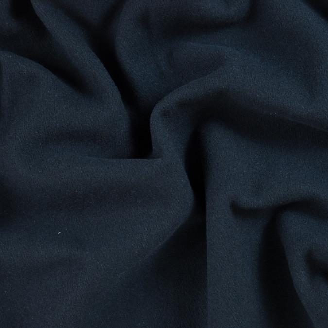 italian dark navy wool twill coating 310074 11