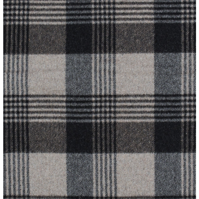 italian dust gray and navy plaid brushed wool twill 314989 11