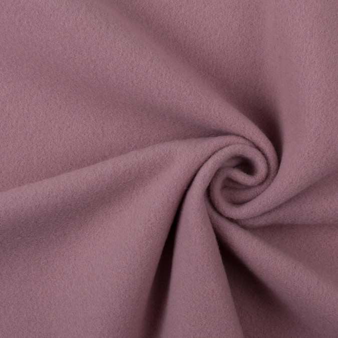italian dusty rose wool cashmere coating 308239 11