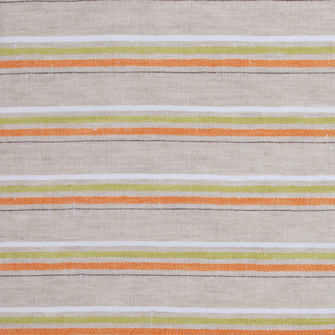 italian flax striped woven linen 302246 11