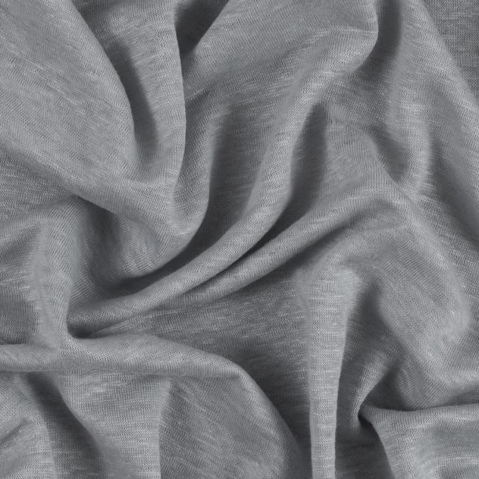 italian gray periwinkle linen jersey 311656 11