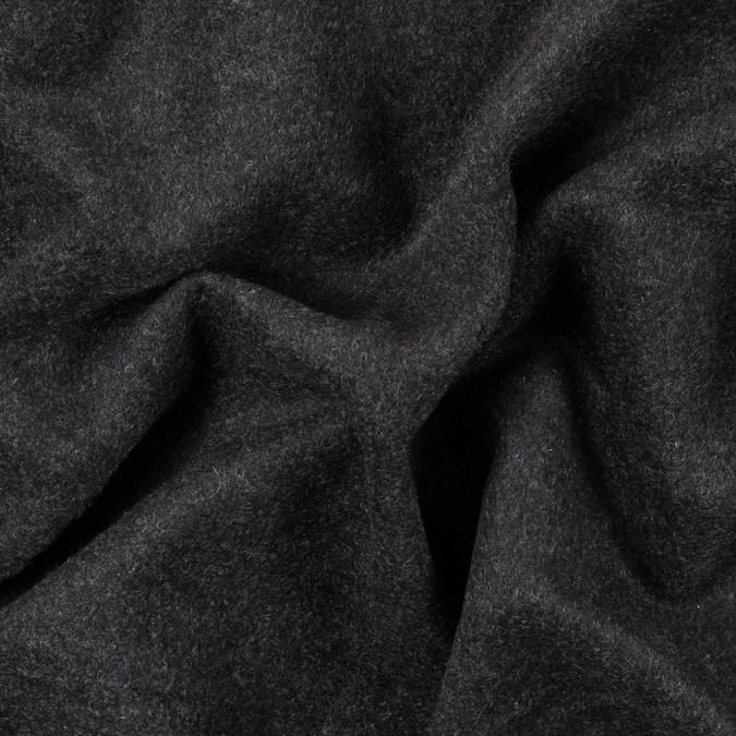 italian heathered moonless night angora wool coating 315566 11