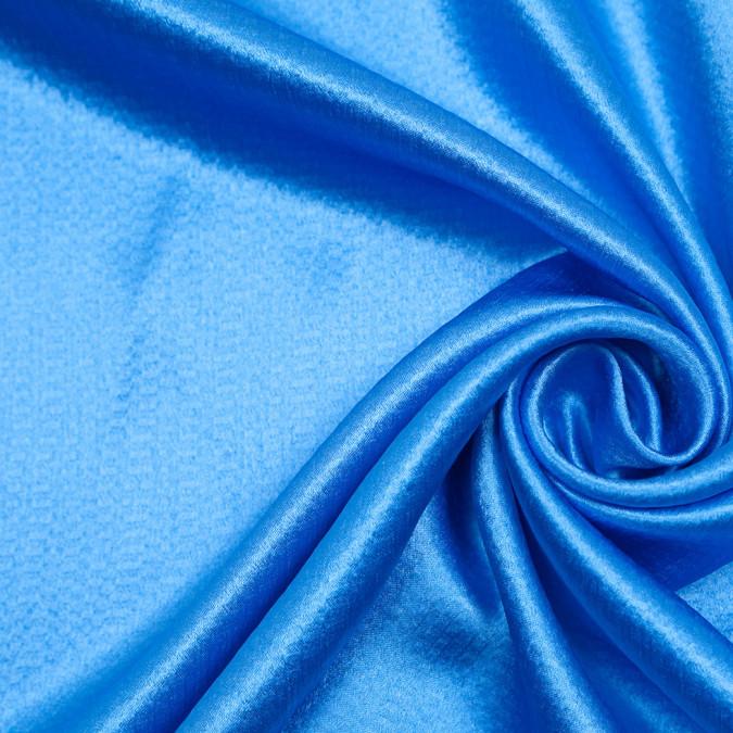 italian jay blue textural silk charmeuse 306248 11
