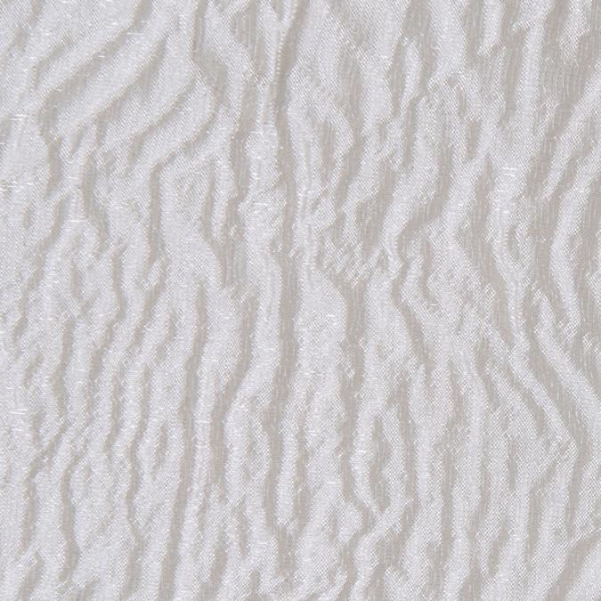 italian light beige crinkled silk matelasse 302703 11