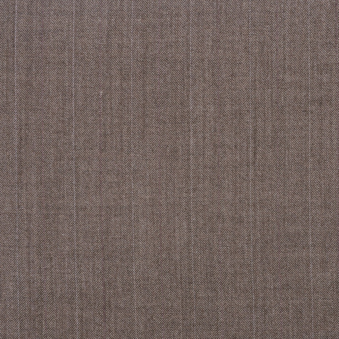 italian light brown herringbone wool blend suiting 301032 11