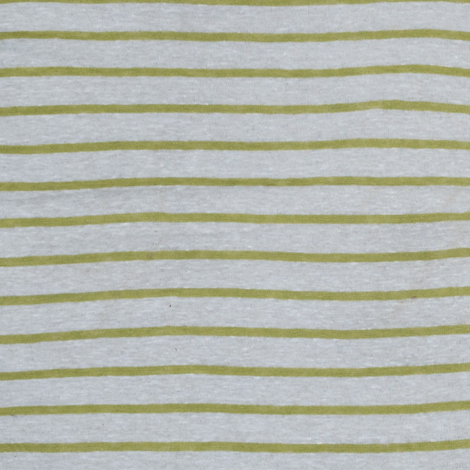 italian lime and white pencil striped linen knit 316303 11