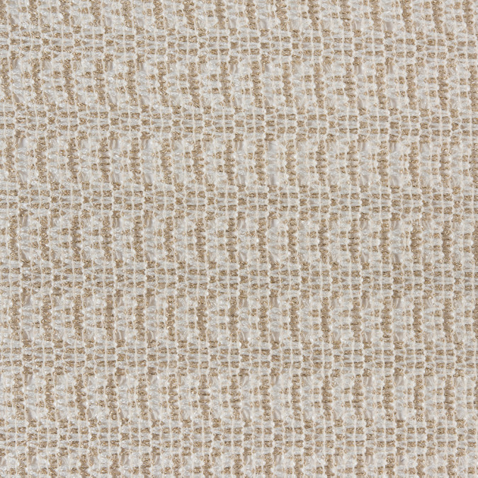 italian metallic gold ivory loosely woven brocade 310549 11
