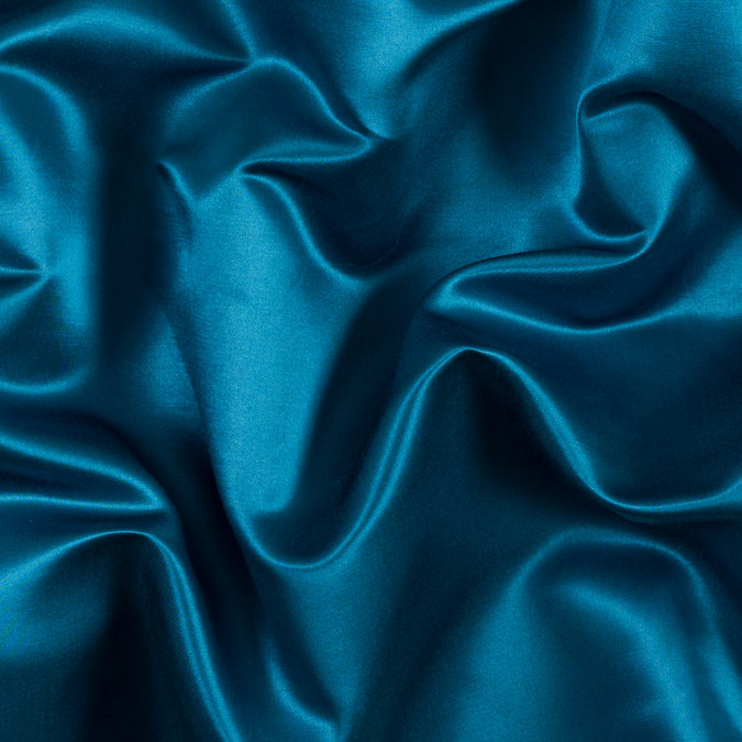 italian mosaic blue silk and cotton satin 313314 11