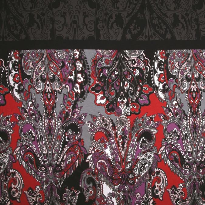 italian multicolor paisley rayon jersey print panel fr25747 11