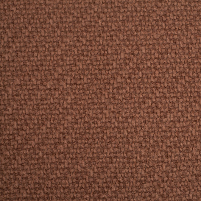 italian mustang brown wool polyester coating 306843 11