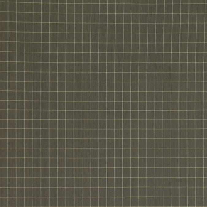 italian olive plaid cotton blend woven fc26509 11