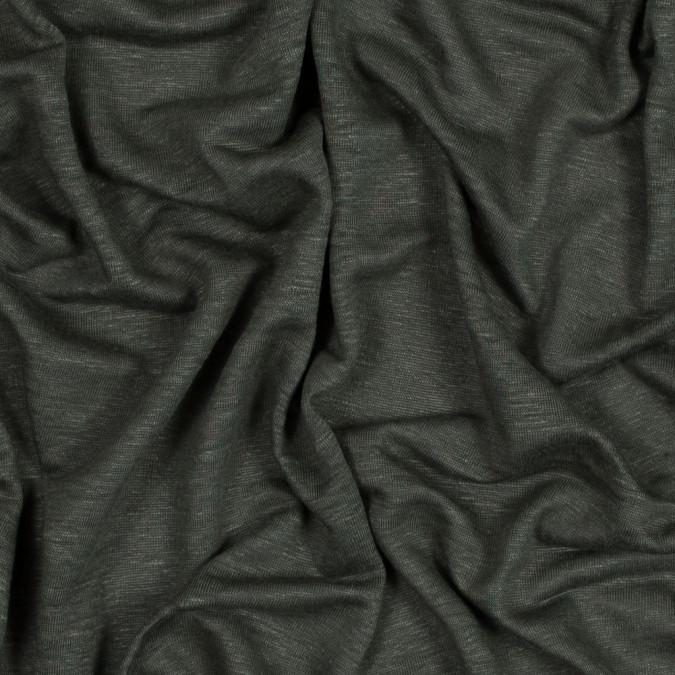 italian olive solid linen knit 316298 11