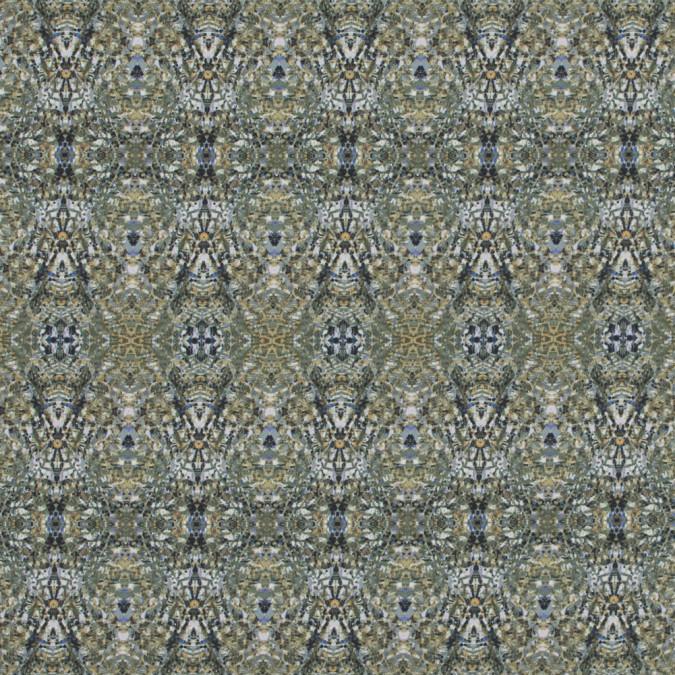 italian olivine kaleidoscopic digitally printed stretch polyester 317466 11