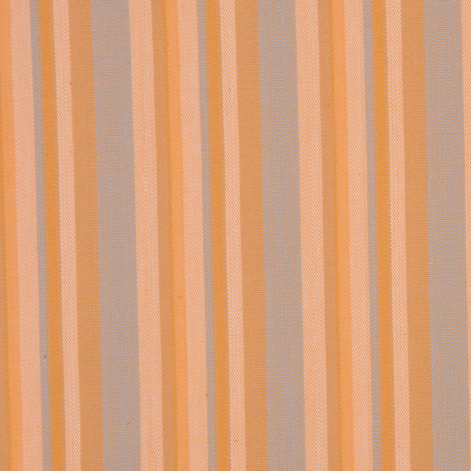italian orange blue barcode striped cotton dobby suiting fc13003 11