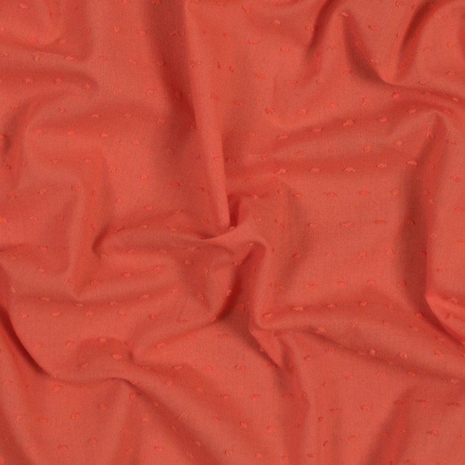 italian orange cotton swiss dot 316330 11