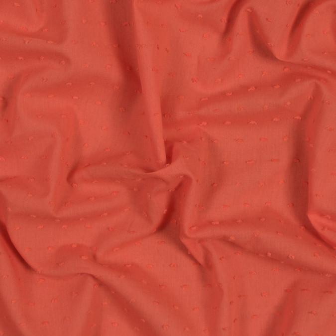 italian orange cotton swiss dot 316330 11