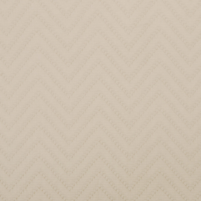 italian pale beige herringbone cotton 301562 11