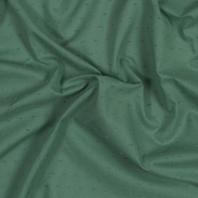 italian pea green cotton swiss dot 316335 11