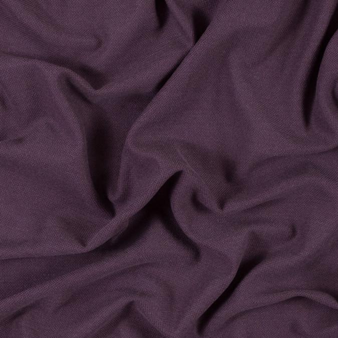 italian prune purple knit pique 315646 11
