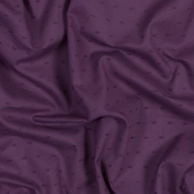 italian purple cotton swiss dot 316332 11