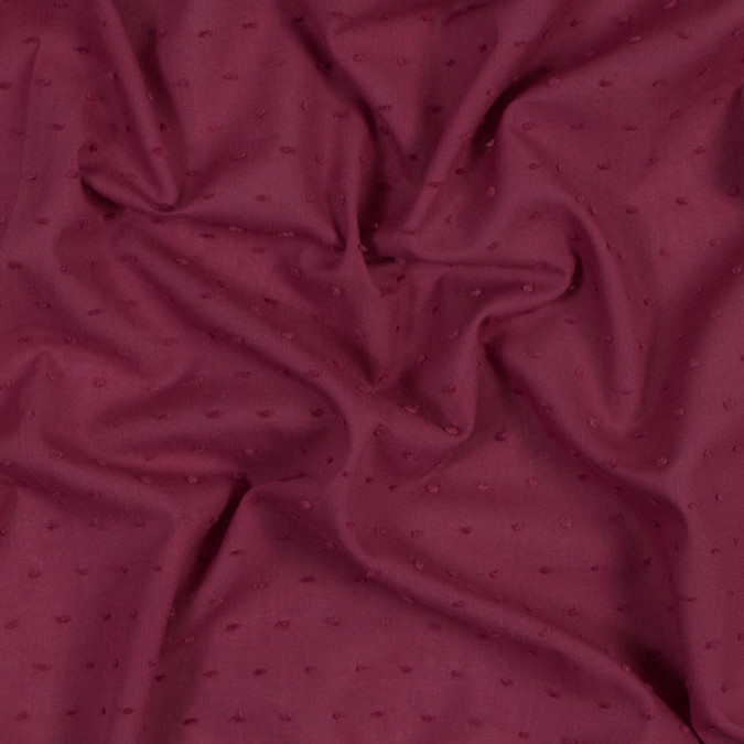 italian raspberry cotton swiss dot 316331 11