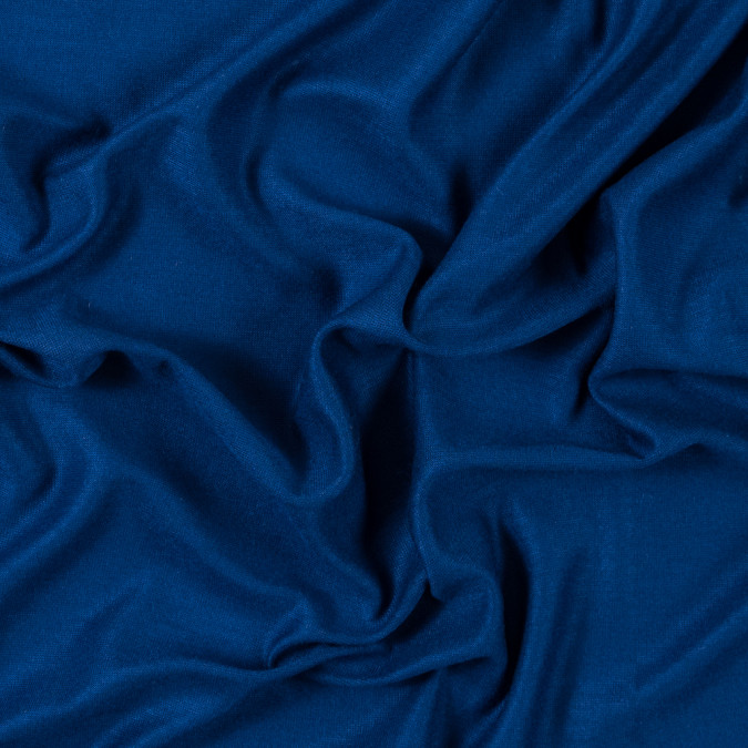 italian royal blue sheer rayon jersey 315630 11